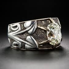 art silver rings images Engagement rings a backward glance aju jpg