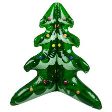 Blow Up Holiday Decorations Inflatable Christmas Tree 60cm Novelty Blow Up Decoration