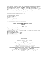 Librarian Resume Library Assistant Resume Resume For Your Job Application