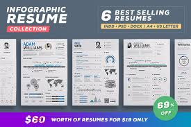 indesign template resume infographic resume vol 1 by paolo6180 graphicriver for a limited time only you can get this amazing infographic resume template for 8 only regular price 10