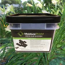 moistureshield deck clips the deck store online