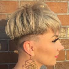 very short pixie hairstyle with saved sides 50 excellent undercut short hairstyles for young women