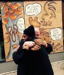Free Hug Guy Wendell Phillips Berwick