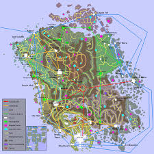 Map Of Nirn Morrowind Map Travel Maps Gaming And Skyrim