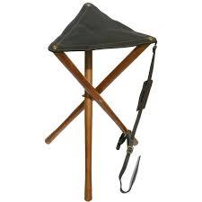 si e de pliable siège pliable bois et cuir haut de gamme pour battue peche