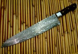 custom japanese kitchen knives japanese damascus chef knife w kamagong handle custom