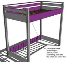 Free Full Size Loft Bed With Desk Plans by Loft Bed Plans How To Build A Budget Loft Bed Woodworking Free