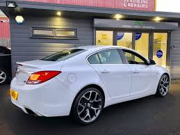 used white vauxhall insignia for sale swansea