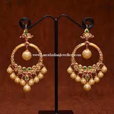 chandbali earrings best 25 chand bali earrings gold ideas on indian