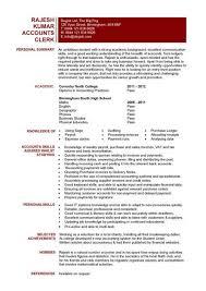 Accountant Job Profile Resume Stunning Resume Accounting 3 Accountant Resume Example Accounting