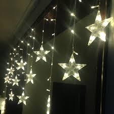 led christmas ornaments window decorates porch partition door