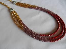 crystal design necklace images Crystal bead necklace designs myshoplah jpg