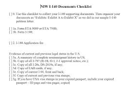 Green Card Resume Eb2 Niw Do It Yourself Kit