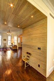 how to whitewash paneling styling your wood paneled space