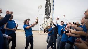 blue origin releases of 400 rocket scientists celebrating