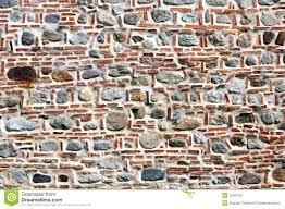 brick and stone wall stock image image 15831051
