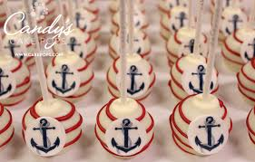 anchor theme baby shower cake pops baby shower theme anchor cake pops nautical theme baby