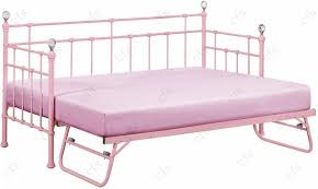 pink daybed with trundle bedroom design lovely pink metal daybed
