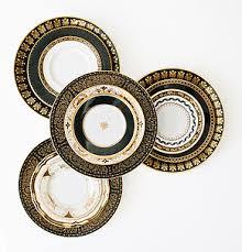 dinnerware rental dinnerware rental black and gold plate clear pressed plate