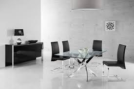 4 Dining Room Chairs Fabio Dining Room Set Fabio Glass Dining Table U0026 4 Chairs
