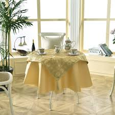 online get cheap luxury round tablecloths aliexpress com
