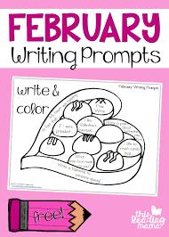 free february writing prompts