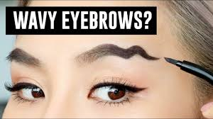 wavy brows the latest makeup trend youtube