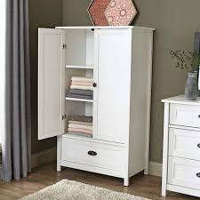 Armoire Closet Furniture White Wardrobe Armoire French Armoire Wardrobe Furniture With