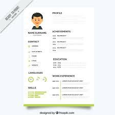 simple curriculum vitae word format template simple curriculum vitae template