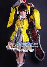 Chinese Halloween Costume Chinese Costume Superhero Armor Cosplay Costumes China Traditional