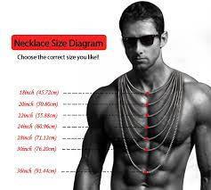men necklace lengths images 3 5 7 9 11mm boys mens chain stainless steel silver curb link jpg