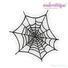 other categories halloween spider web embroidery design