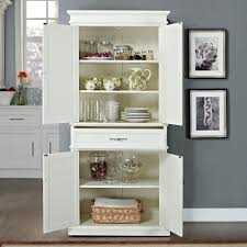 Kitchen Pantry Cabinet Furniture Amazon Com Crosley Furniture Parsons Pantry Cabinet White