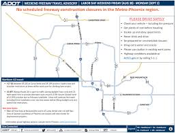 Map Of Arizona Highways by Dps Adot To Focus On I 17 North Of Phoenix As U0027safety Corridor