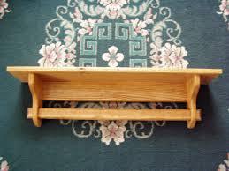 quilt holder rack wall mount shelf 48 inch oak quilt rack wall