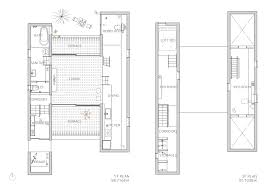 narrow townhouse floor plans gallery of mascara house ma style architects 19