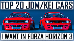 widebody jdm cars top 20 jdm u0026 kei cars i want in forza horizon 3 youtube
