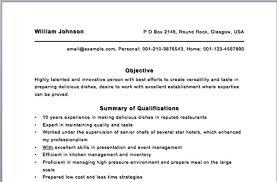 sample cv cover letter restaurant cook resume sample cv cover