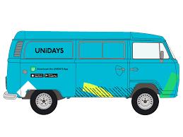 volkswagen van cartoon win a trip to ibiza with unidays roadtrip it u0027s in nottingham