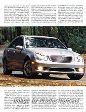mercedes c32 amg review mercedes c32 amg car ebay