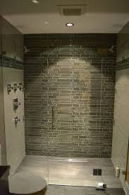 shower glass tile ideas modern bathroom lakeview il barts