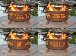 Custom Firepit Marvelous Ideas Personalized Pit Alluring College Logo Custom