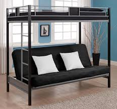 Bedroom Fancy Twin Over Futon Bunk Bed For Kids And Teens Bedroom - Full size bunk bed with futon on bottom
