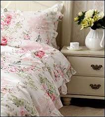 Romantic Comforters Shabby Pink Bella Rose Bedding Set Chic Bedding Shabby And Bed Sets
