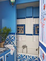Cornflower Blue Bathroom by