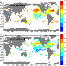 A World Map A Global Inventory Of Small Floating Plastic Debris Iopscience