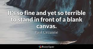 paul cezanne quotes brainyquote