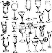 disegni bicchieri calice vino foto royalty free immagini immagini e archivi
