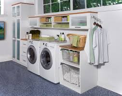 Laundry Room Storage Cabinet by Best 25 Garage Laundry Ideas On Pinterest Utility Room Ideas