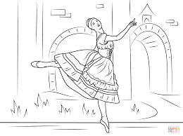 dance coloring pages inspiration graphic ballet coloring book at
